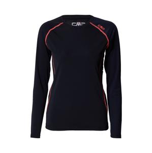 CMP Funkční tričko  černá / červená