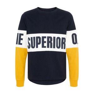 NAME IT Tričko  noční modrá / žlutá