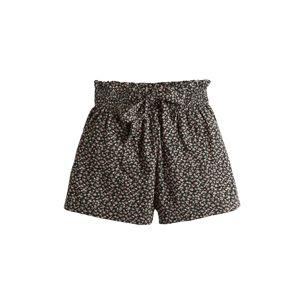 HOLLISTER Kalhoty 'CHAIN PBW SOFT SHORT 3CC'  šedá / černá