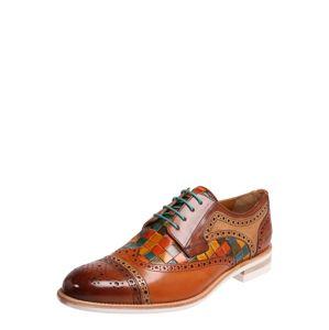 MELVIN & HAMILTON Šněrovací boty 'Henry 7'  tělová / hnědá / mix barev