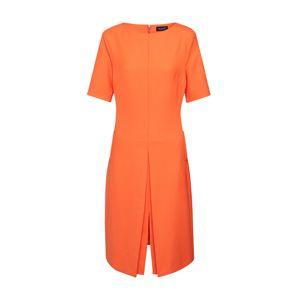 SAND COPENHAGEN Koktejlové šaty 'Jaden SL'  oranžově červená