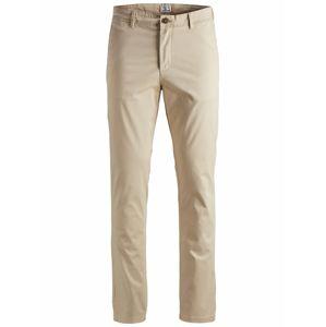 JACK & JONES Chino kalhoty  velbloudí