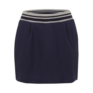 NADEL U FADEN Kalhoty  námořnická modř / šedá