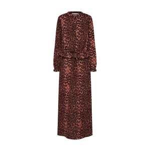 Sofie Schnoor Košilové šaty 'Maggie'  rezavě červená / černá