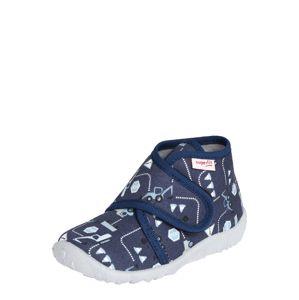 SUPERFIT Pantofle 'SPOTTY'  bílá / tmavě modrá / opálová / černá