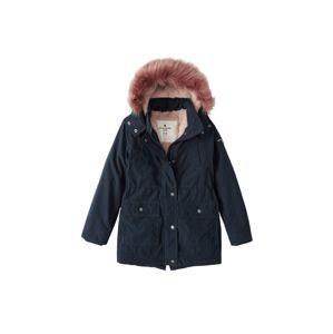 Abercrombie & Fitch Zimní bunda  námořnická modř