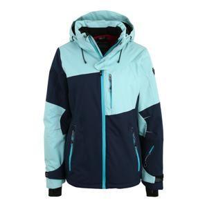 KILLTEC Sportovní bunda 'Luira'  tyrkysová / tmavě modrá