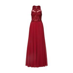 Mascara Společenské šaty 'LACE EMB'  vínově červená