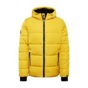 Superdry Zimní bunda  žlutá