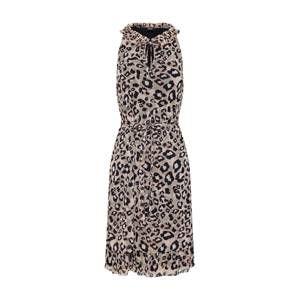 S.Oliver BLACK LABEL Letní šaty  hnědá / mix barev
