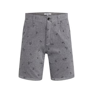 Only & Sons Chino kalhoty 'onsCUTON KNITTED PIQUE AOP SHORTS'  šedá