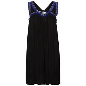 Junarose Letní šaty 'Brynja'  modrá / černá