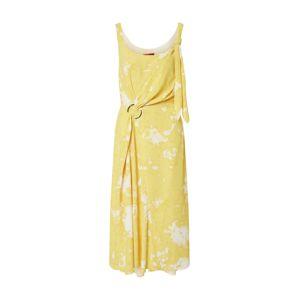 HUGO Letní šaty 'Kusali'  tmavě žlutá