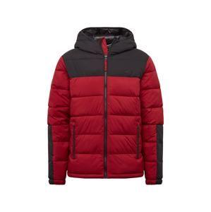 HOLLISTER Zimní bunda 'MW PUFFER HOOD 2CC'  burgundská červeň