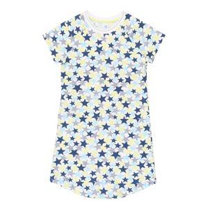 SANETTA Noční košilka  bílá / modrá / žlutá