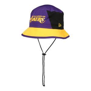 NEW ERA Klobouk 'NBA TEAM BUCKET'  černá / fialová / žlutá