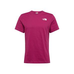 THE NORTH FACE Funkční tričko 'Red Box'  fialová