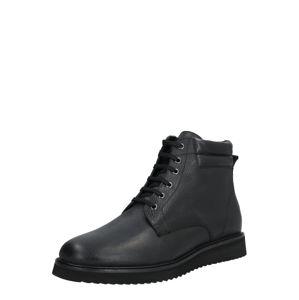 Hudson London Šněrovací boty  černá