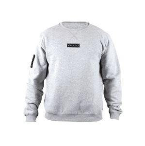 MOROTAI Sportovní mikina ' Small Bloc Logo Sweatshirt '  šedá