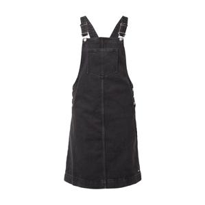 TOM TAILOR DENIM Laclová sukně  černá