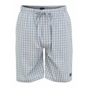 GANT Pyžamové kalhoty  tyrkysová / nefritová / bílá / červená