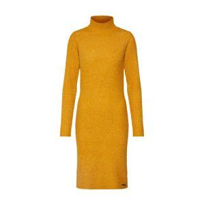 NÜMPH Úpletové šaty 'Numurray'  žlutá
