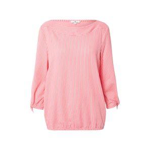 TOM TAILOR Tričko  bílá / pink