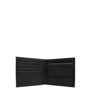POLO RALPH LAUREN Peněženka 'LEATHER-CNY BR BF/C-WLT-SML'  černá