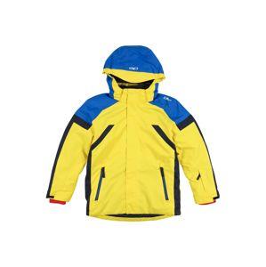 CMP Sportovní bunda  žlutá / modrá