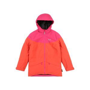 JACK WOLFSKIN Zimní bunda 'POWDER MOUNTAIN'  korálová / pink
