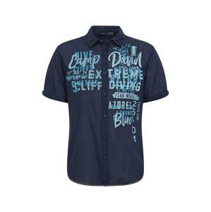 CAMP DAVID Košile  světlemodrá / noční modrá / bílá