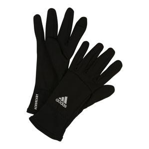 ADIDAS PERFORMANCE Sportovní rukavice  černá / bílá
