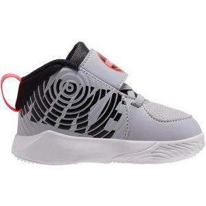 NIKE Sportovní boty 'Team Hustle D 9'  černá / šedá