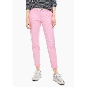 s.Oliver Chino kalhoty  světle růžová