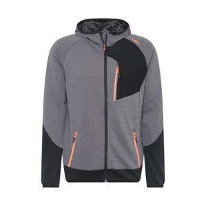 CMP Outdoorová bunda  antracitová / šedá / tmavě šedá / tmavě oranžová