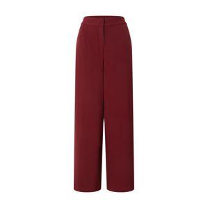 VERO MODA Kalhoty 'Cameron'  vínově červená