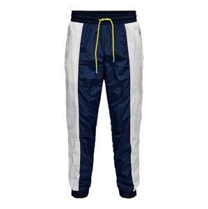 Only & Sons Kalhoty  bílá / námořnická modř