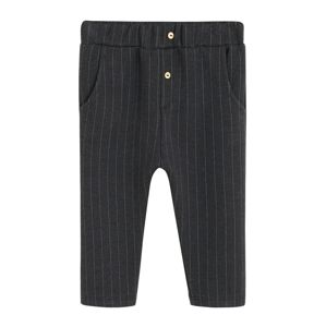 MANGO KIDS Kalhoty 'Trousers rick'  tmavě šedá