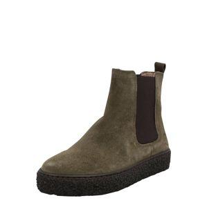 Ca Shott Chelsea boty  olivová / kaštanově hnědá