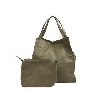 Mae & Ivy Nákupní taška  olivová