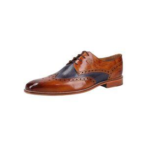 MELVIN & HAMILTON Šněrovací boty 'Martin 15'  námořnická modř / hnědá