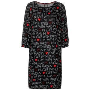 STREET ONE Šaty  červená / černá / bílá