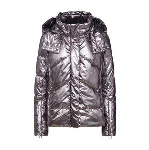 Marc Cain Přechodná bunda  stříbrně šedá