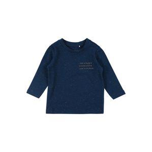 NAME IT Tričko  tmavě modrá / jasně oranžová