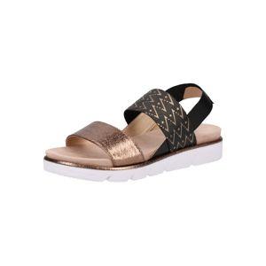 bugatti Páskové sandály  světle hnědá / tmavě hnědá