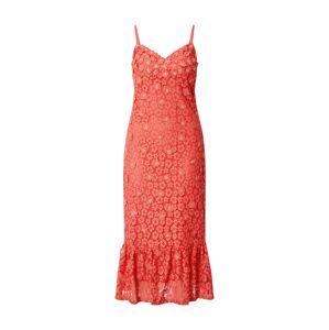 MICHAEL Michael Kors Letní šaty 'Floral Lace'  broskvová