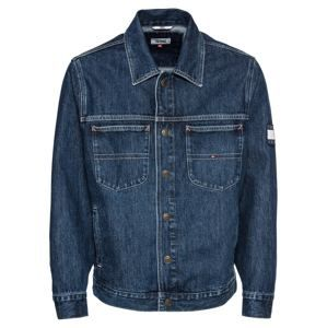 Tommy Jeans Přechodná bunda 'OVERSIZED TRUCKER SLMR'  blue denim