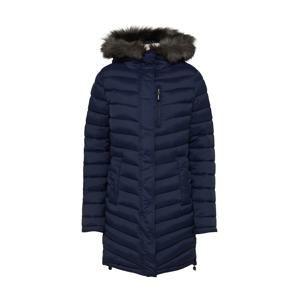 Superdry Zimní kabát 'CHEVRON FUR SUPER FUJI'  námořnická modř