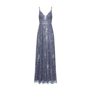 LUXUAR Společenské šaty  modrá / šedá