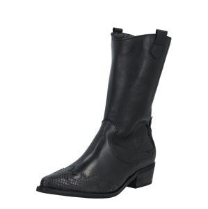 Bianco Kovbojské boty 'Delora'  černá